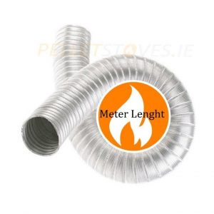 1mt length 316L grade stainless steel double skin flexible liner