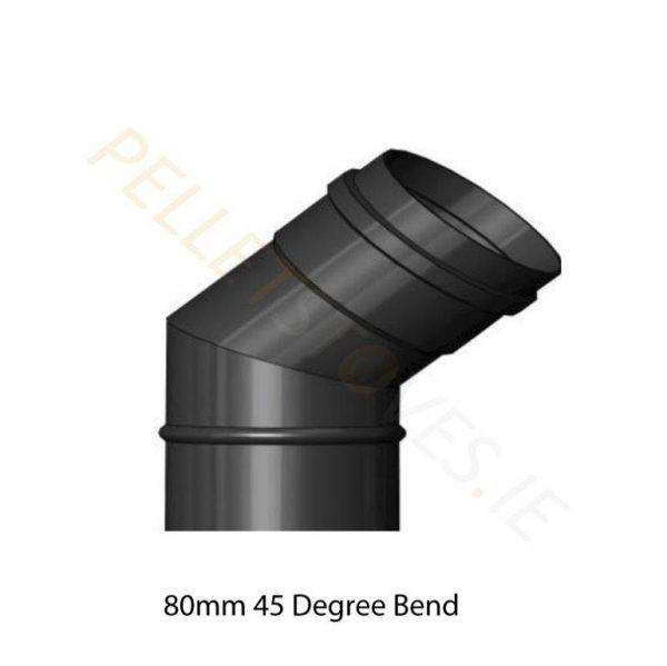 80mm x 45 Degree Bend
