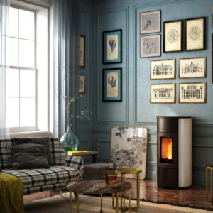 Flexi-7 Natural convection and ventilated pellet stove