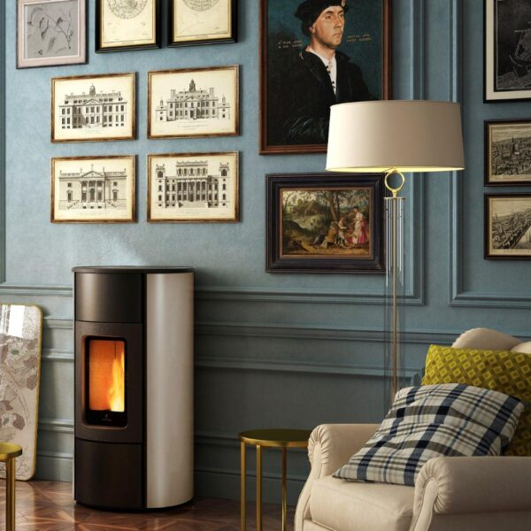 Flexi-9 Natural convection and ventilated pellet stove