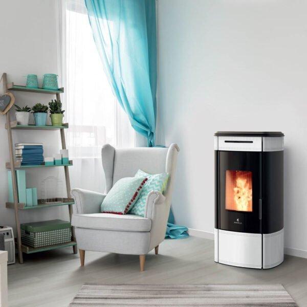 HRV-100 Globe wood pellet boiler stove