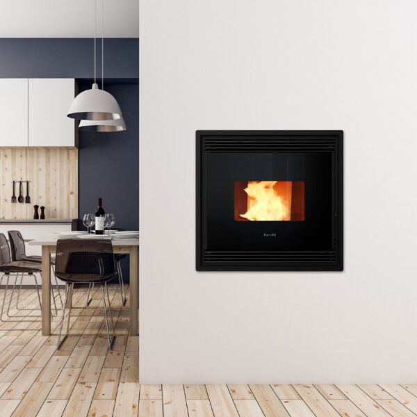 RBH 150V insert wood pellet boiler stove