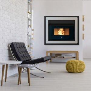 RBV-808 insert ventilated pellet stove