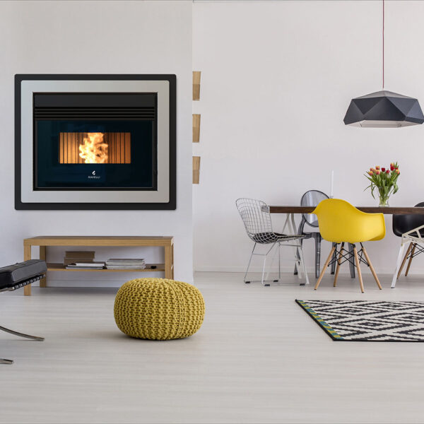 RBC-808 insert ventilated pellet stove