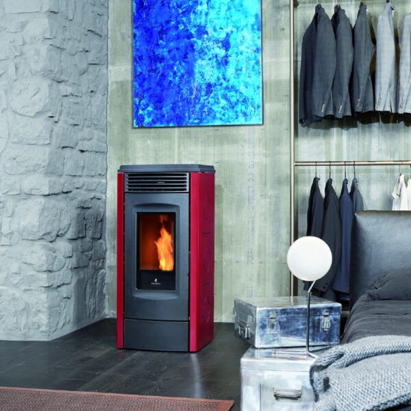 RV-120- Touch ventilated wood pellet stove