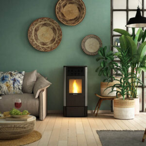 S-90 ventilated wood pellet stove