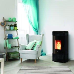 HRV-140 Globe wood pellet boiler stove