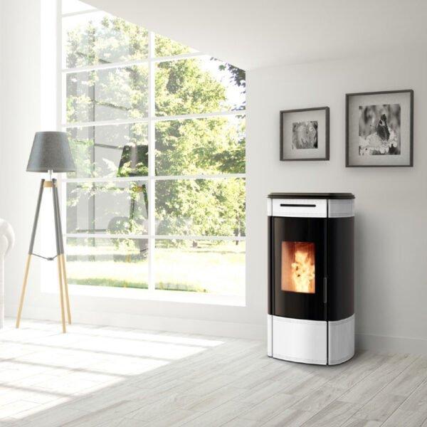 HRV-120 Globe wood pellet boiler stove