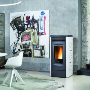 RC-120Toucn ducted wood pellet stove