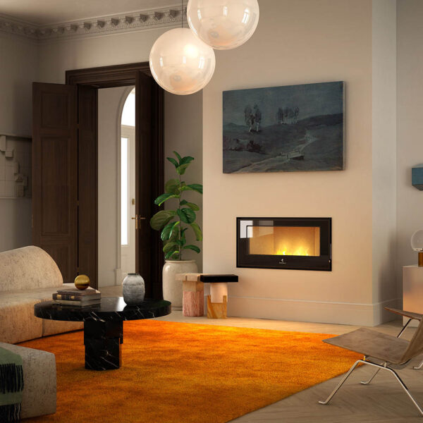 Magus insert wood pellet stove