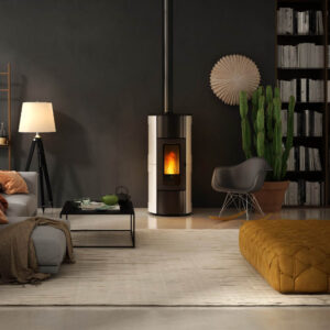 Flexi-11 Natural convection and ventilated pellet stove
