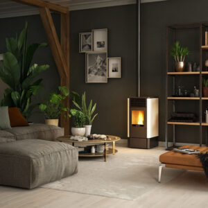 S-70 ventilated wood pellet stove